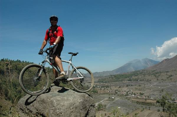 downhill vom Mt. Agung