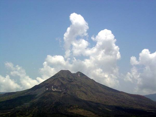 Mt Agung Indonesien